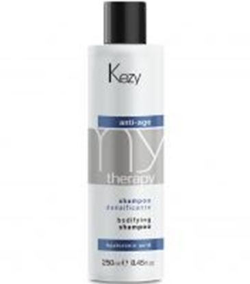 Изображение Kezy MyTherapy Anti-Age Hyaluronic Acid Bodifying Shampoo - Шампунь для придания густоты истонченным волосам с гиалуроновой кислотой, 250 мл