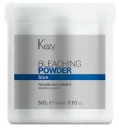 Изображение Kezy Color Vivo Blond Bleaching Powder Blue -Порошок обесцвечивающий голубой, 500 гр